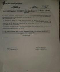 Comunicado Banco de Venezuela restricciones CENCOEX 2016 cupo viajero venezolanoenchile.com