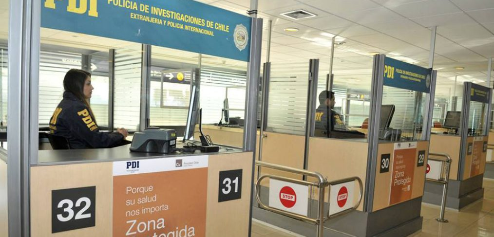Inmigración en el Aeropuerto de Santiago de Chile - Venezolanoenchile.com