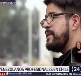 Reportaje TVN - El boom de los venezolanos en Chile - venezolanoenchile.com
