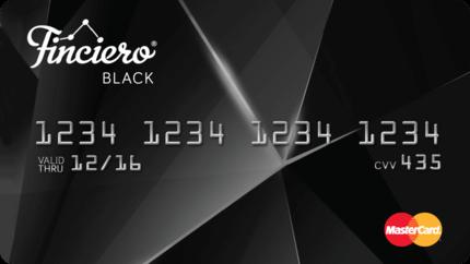 Finciero Black tarjeta de crédito Mastercard prepago - venezolanoenchile.com