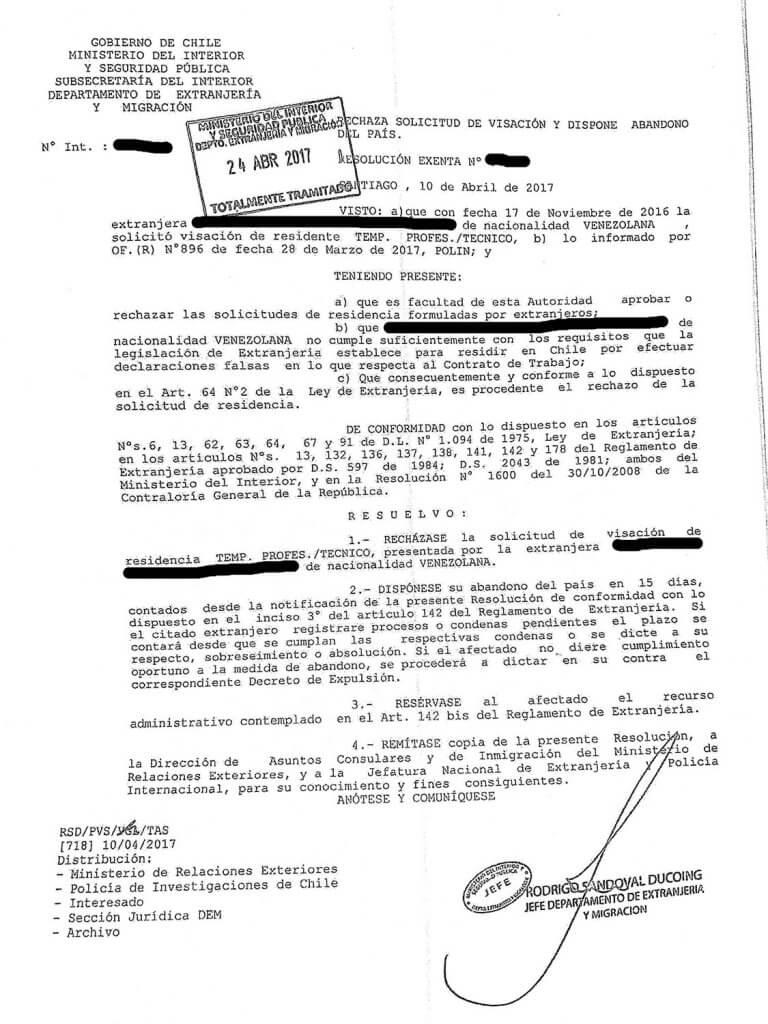 rechazo-visa-chile