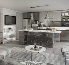 Inmobiliaria Imagina Cocina integrada 10% de pie