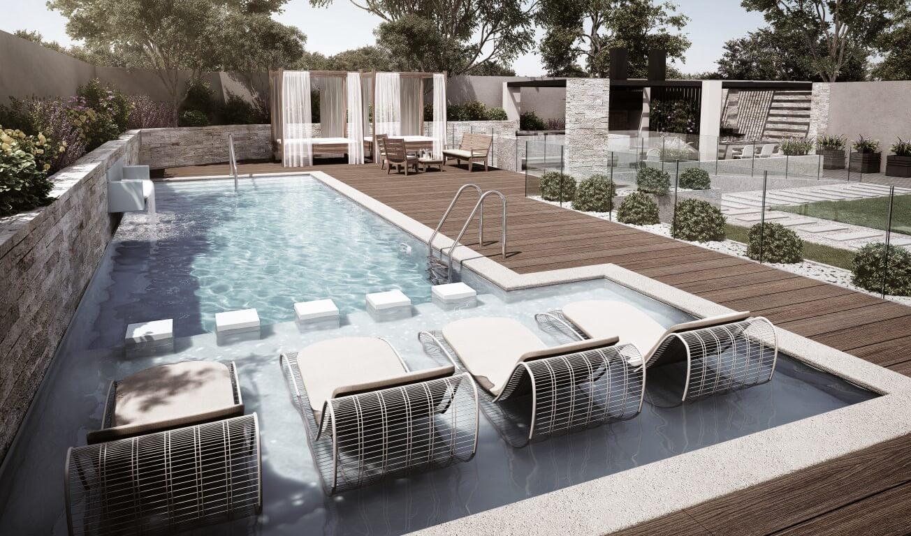 Imagina una inmobiliaria comprometida con los for Cuanto sale hacer una piscina en chile