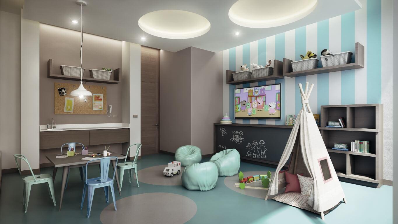 Imagina una inmobiliaria comprometida con los for Sala de estar para ninos