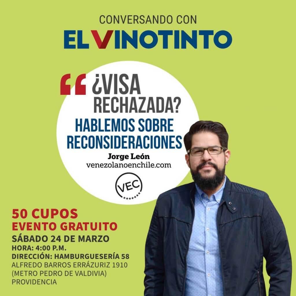 Conversatorio El Vinotinto Jorge León