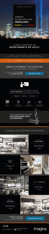 7mo evento especial para venezolanos de Inmobiliaria Imagina