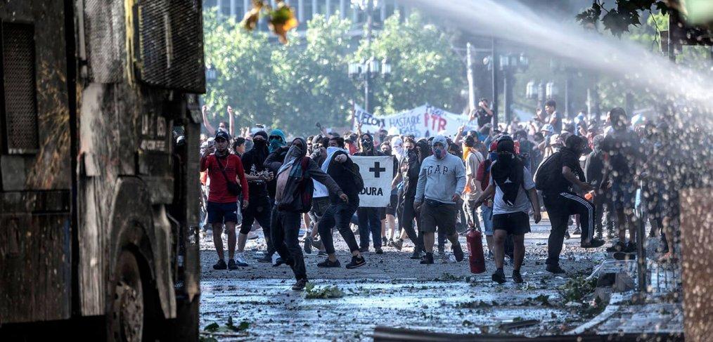 Protestas violentas en Chile - Octubre 2019